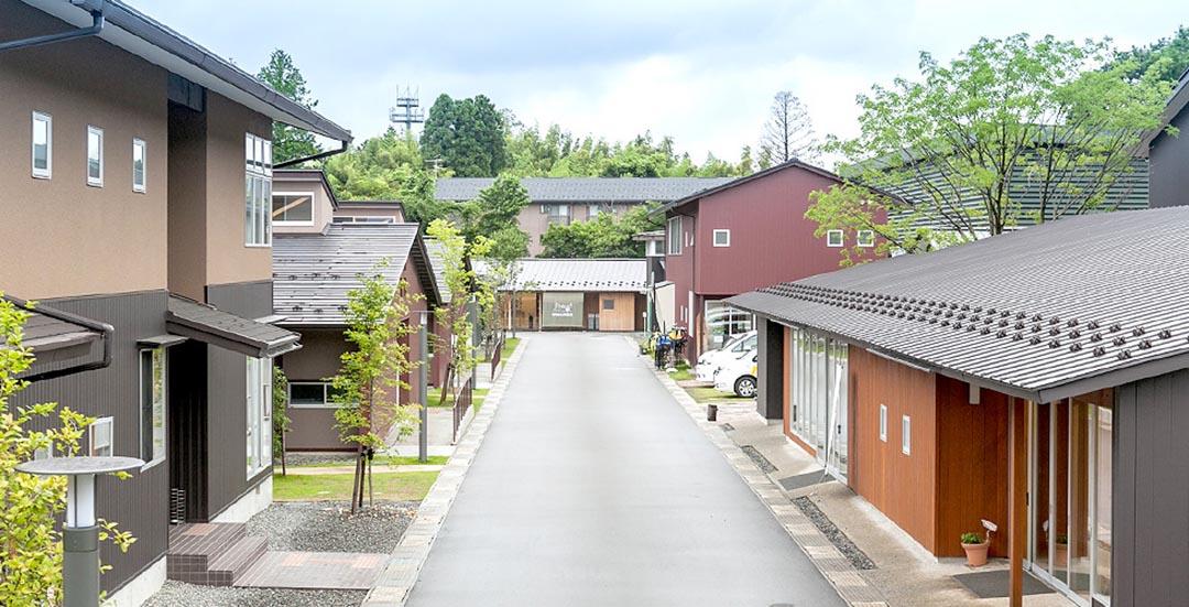 位於石川縣金沢市的Share金沢,刻意選址在多大學生居住的地區之中。圖片來自Suumo.jp,由作者提供