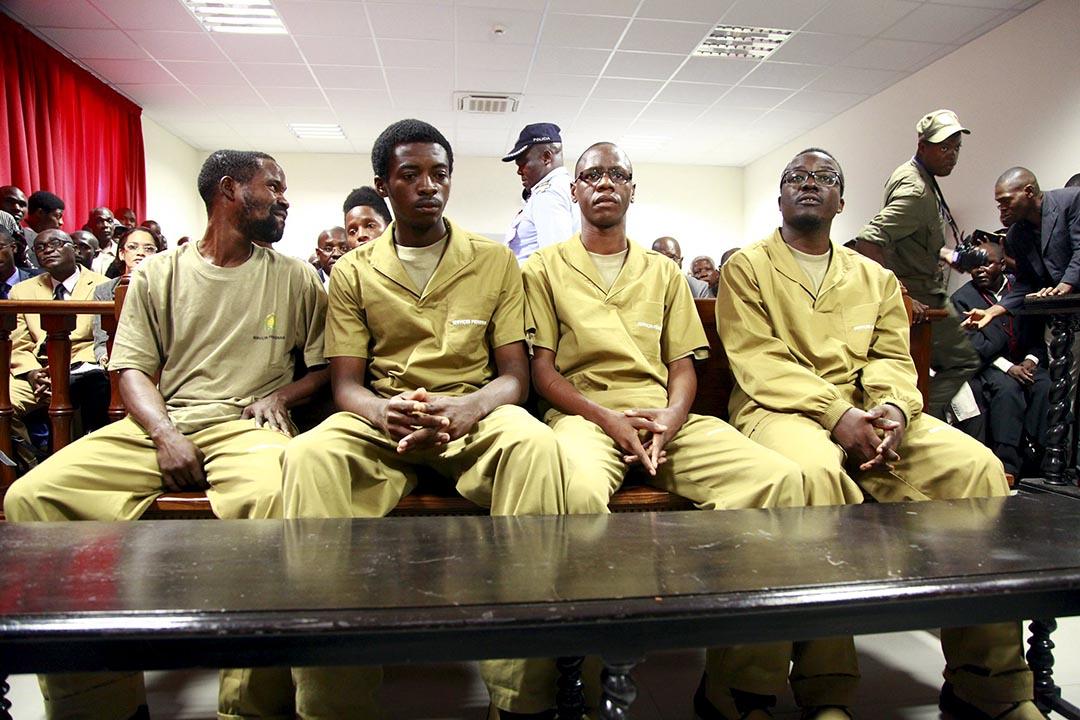 非洲安哥拉17人因閱讀美國學者吉恩·夏普(Gene Sharp)的非暴力抵抗著作被控「叛國」。攝 : Herculano Corarado/REUTERS