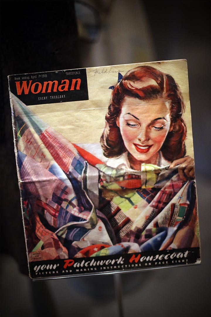 1940年代街頭時尚展覽。攝:Carl Court/Getty Images