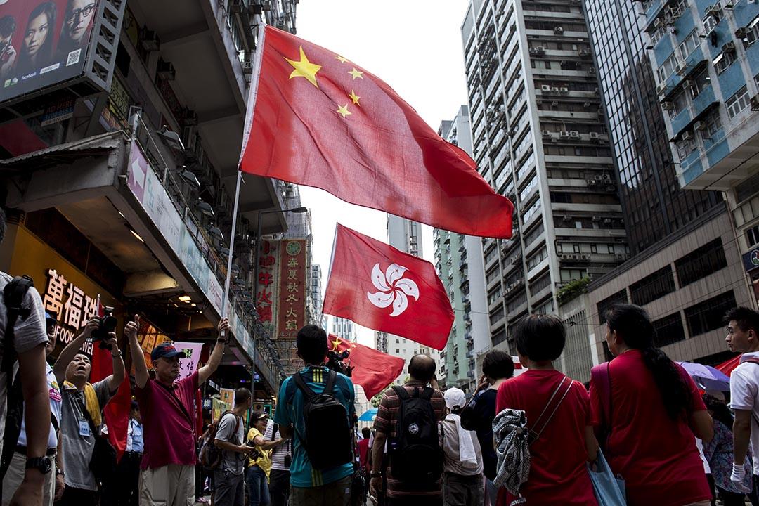 政改落幕,中國制約更加明顯,「香港未來想像」的課題,仍是現在進行式。攝 : Alex Ogle/AFP