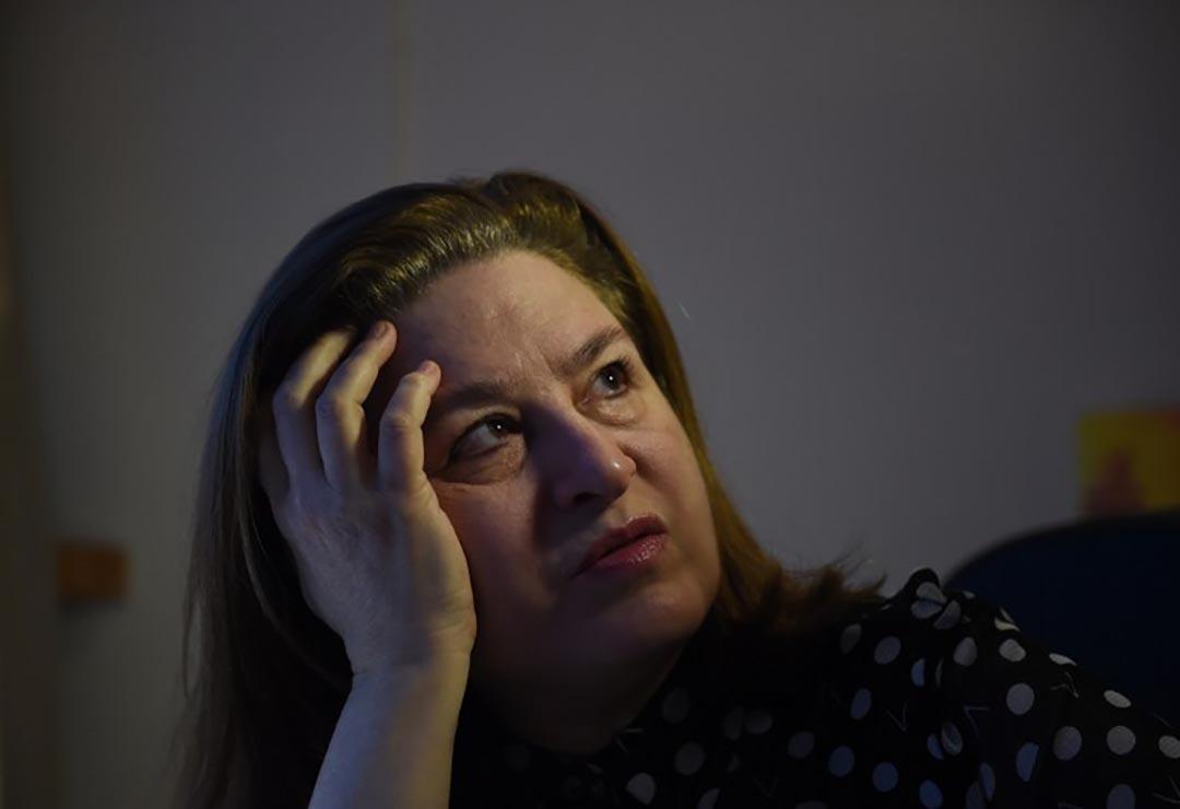 法國《新觀察家》(L'Obs)雜誌前駐華記者郭玉(Ursula Gauthier)。攝 : Greg Baker/AFP