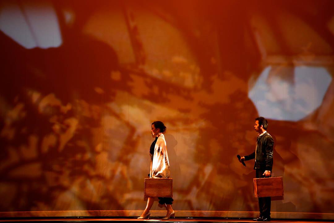 《香夭》劇照。圖片由黎宇文及桃花源粵劇工作舍提供