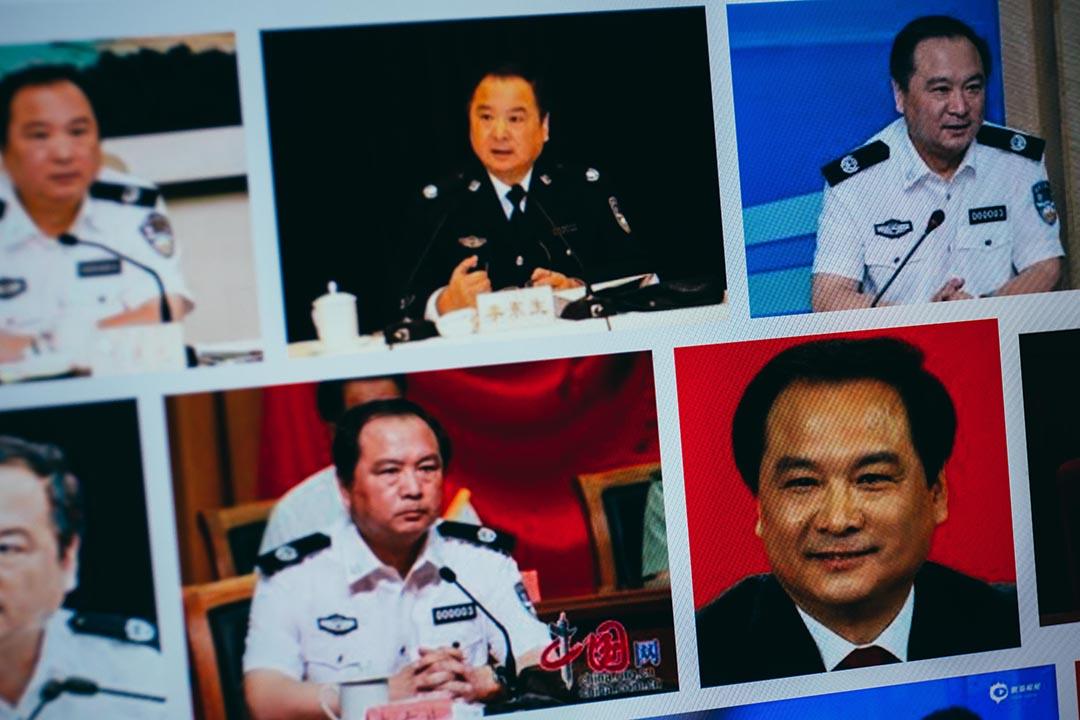 中國公安部原副部長李東生。攝:端傳媒設計圖片