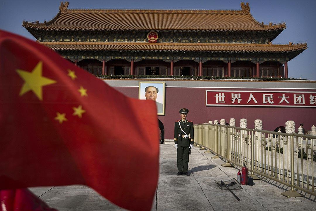 9月22日,中國首次發布《中國共產黨統一戰線工作條例(試行)》全文。攝 : Kevin Frayer/Getty