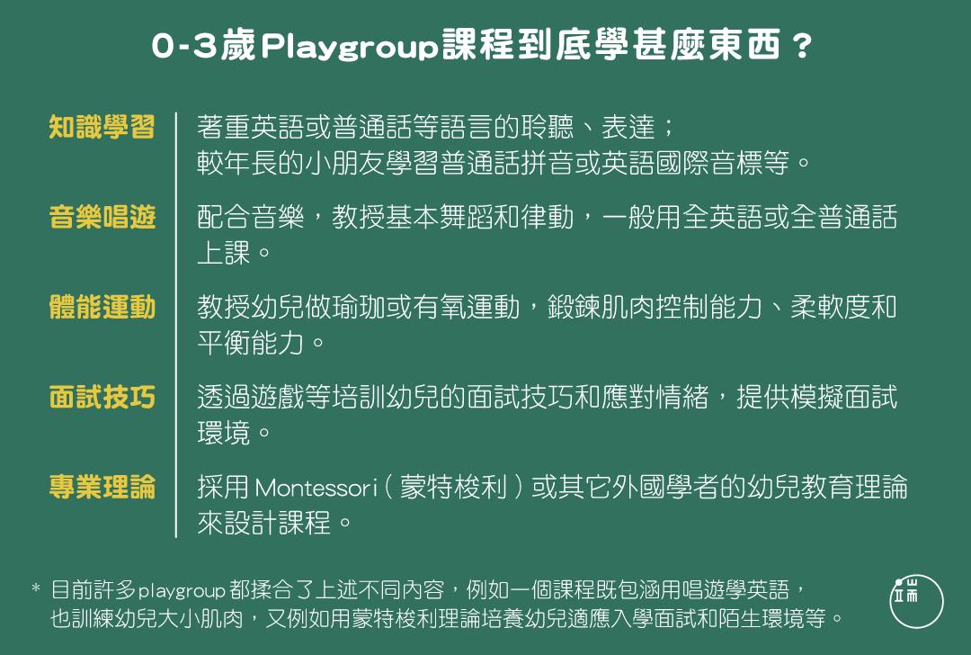 0-3歲Playgroup課程到底學什麼東西?圖:端傳媒設計部