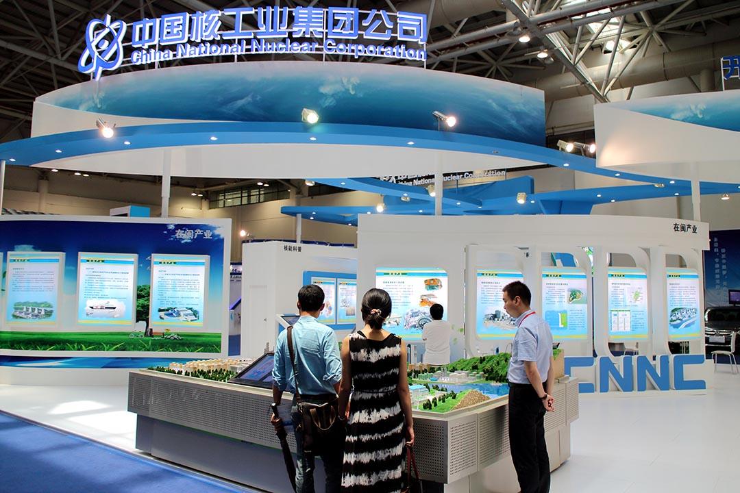 核電站將由中法合建,中國核工業建設集團公司為此項目的中方代表之一。攝 : Imaginechina