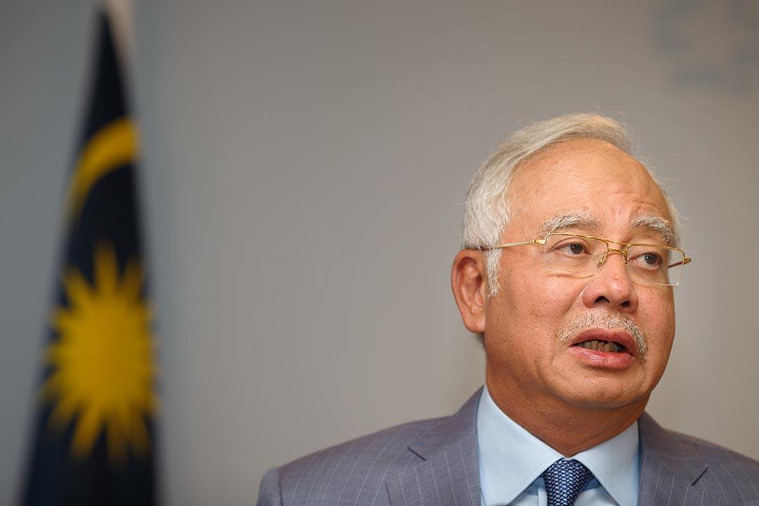 馬來西亞首相納吉。攝 : Jasper Juinen/Getty Images