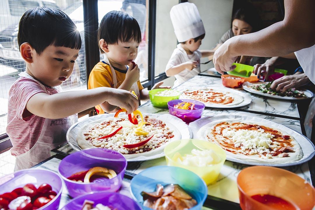 Pizza除了是美饌,還是讓想像力馳騁的畫板。攝:Keith Tsuji/ 端傳媒