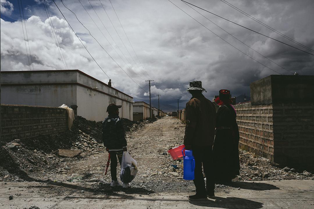 治多縣索加鄉移民村。攝 : 王嘉豪/端傳媒
