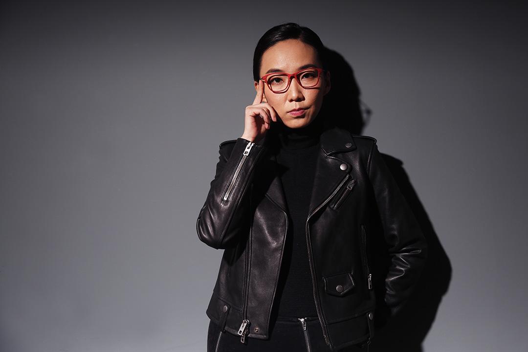 談起自己對2016年的期待,馬薇薇說,自己是個很悲觀的人,「不認為什麼事情活該一定是我的」。攝:Wu Hao/端傳媒