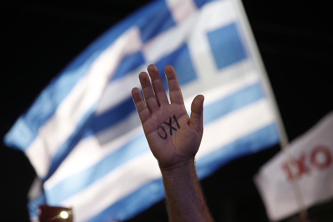 區龍宇:今天的希臘悲劇,不過重演第三世界的戲碼而已。 攝:Petros Giannakouris/AP