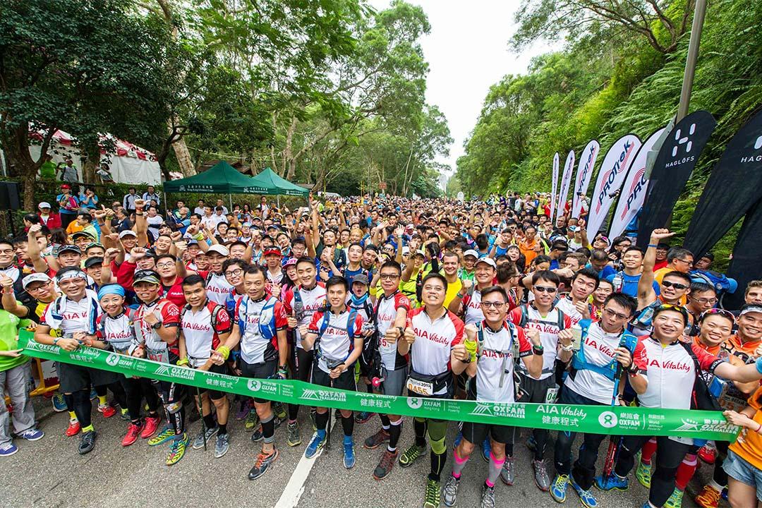 香港「樂施毅行者2015」約5200位參加者參與,他們將於48小時內橫越100公里麥理浩徑及其他接續路段。樂施會網頁圖片