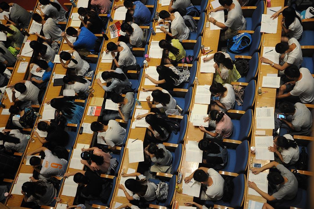 中國政法大學教授孫選中被匿名人士舉報,指其2008年完成的博士論文存在大量抄襲。攝: ChinaFotoPress/ Getty