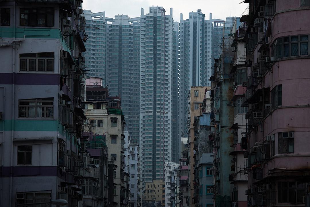 圖為香港深水埗住宅區。攝:盧翊銘/端傳媒