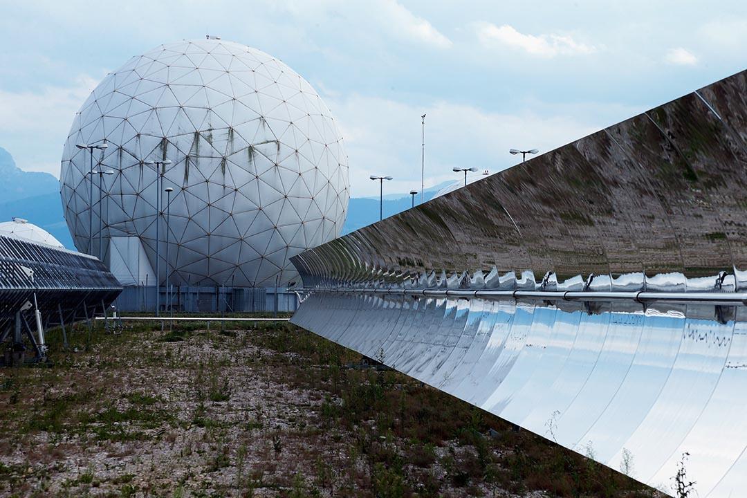 德國聯邦情報局利用在巴伐利亞州巴德艾比林(Bad Aibling)的監聽站。攝 : Johannes Simon/GETTY