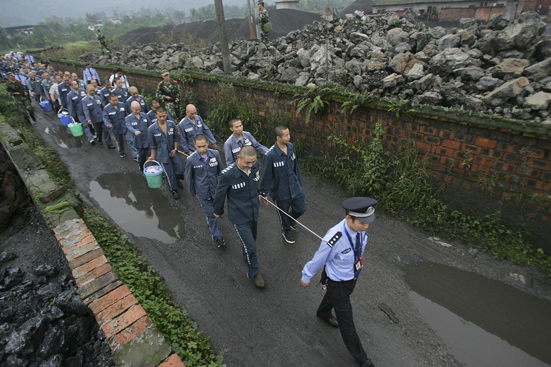 中國為紀念抗戰勝利將特赦4類刑事罪犯。攝: Stringer/REUTERS