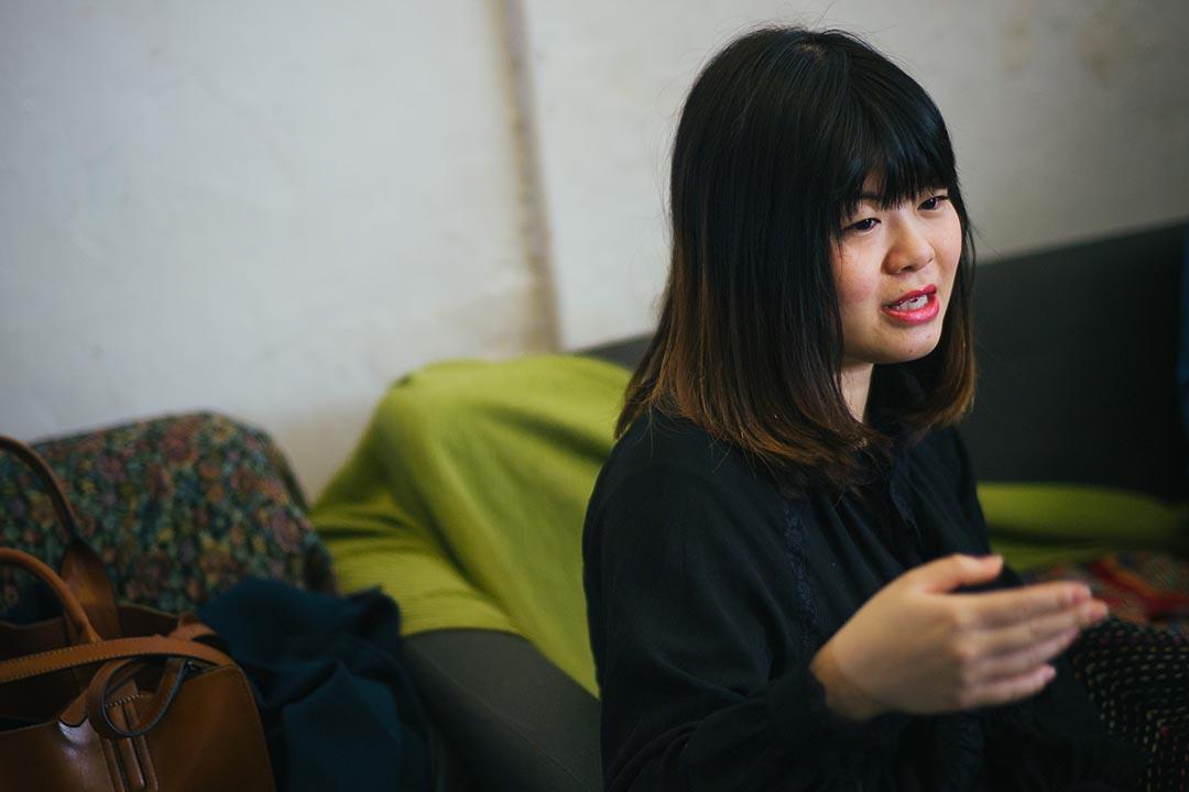 Kitty Hung:有人會問我「你不是性開放嗎,那我約你你為什麼不跟我上床?」他們喜歡以此去質疑我其實不是進步女性主義者。攝:葉家豪/端傳媒