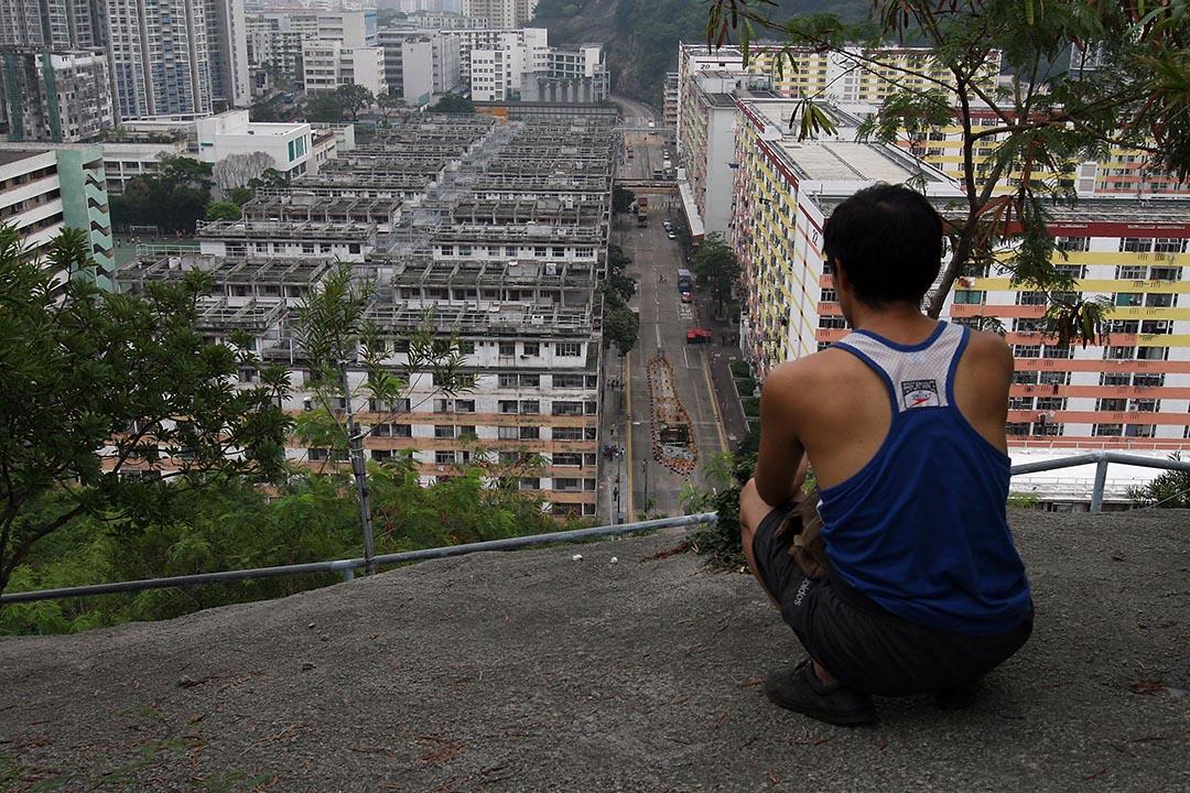 姚松炎:香港現時的人口密度其實已經達至每平方公里六千多人,而市區密度更屬全球名列前茅級別。 攝:MN Chan/Getty
