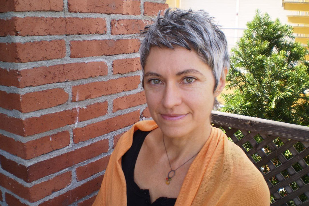 加泰隆尼亞詩人詹瑪•歌爾伽(Gemma Gorga)。圖片由作者提供