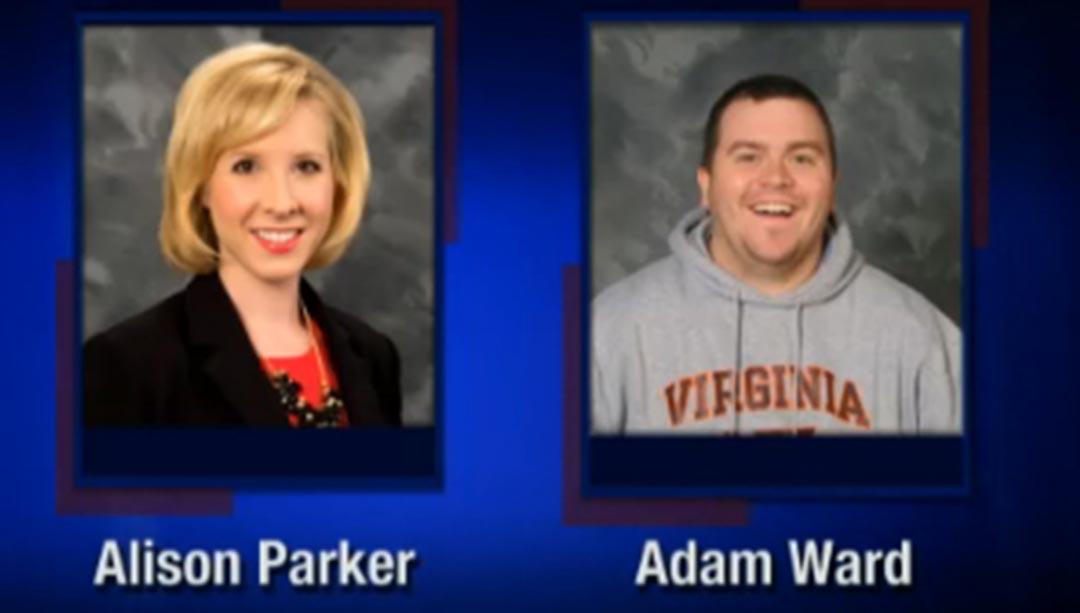 被殺記者艾莉森·帕克(Alison Parker,女,24歲)和攝影師亞當·沃德 (Adam Ward,男,27歲)。攝: Handout via AP