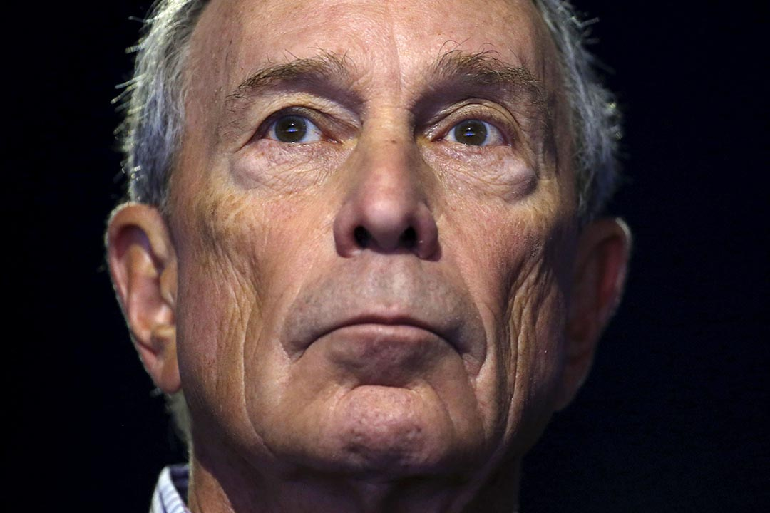 前紐約市長、彭博社創始人兼CEO彭博(Michael Bloomberg)。攝 : Stephane Mahe/REUTERS
