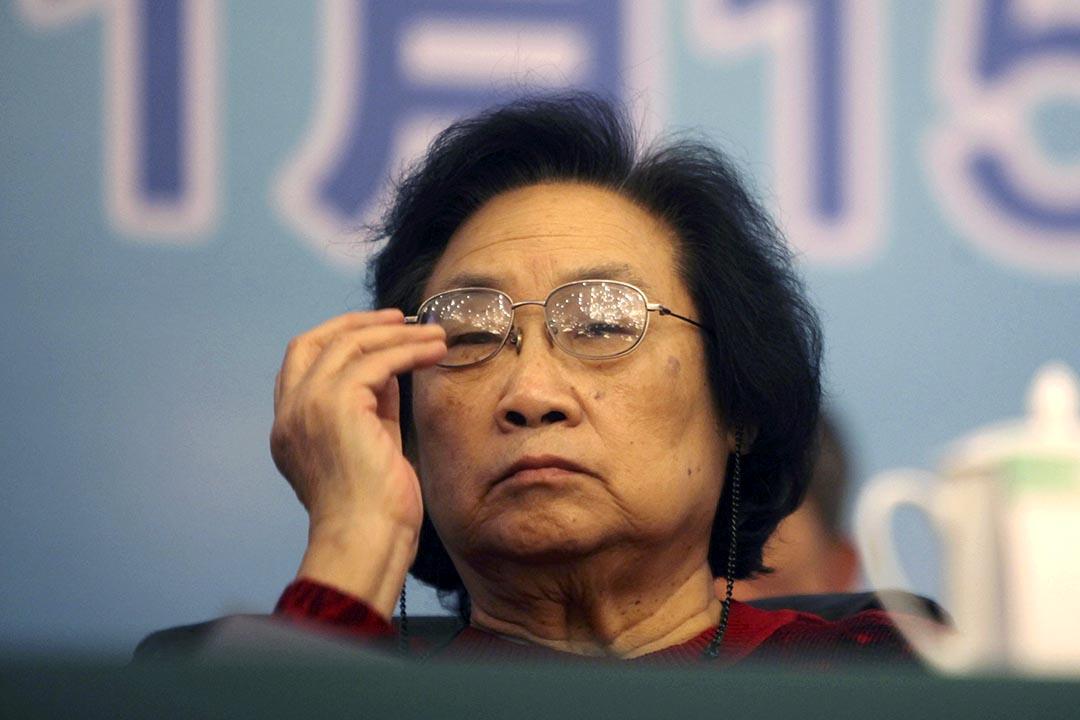 2011年11月15日,屠呦呦獲中國中醫科學院2011年科技工作大會授予中國中醫科學院傑出貢獻獎。REUTERS