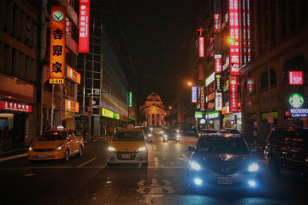 圖為台北夜景。攝:Billy H.C. Kwok/端傳媒