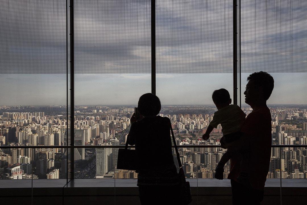 中共中央、中国国务院提出的城市規劃意見中,涉及開放封閉住宅小區引起爭議。攝 : Kevin Frayer/GETTY