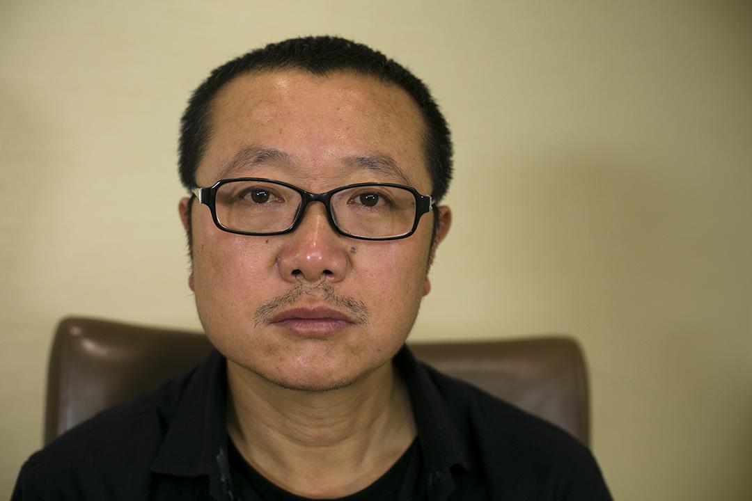 中國科幻小說作家劉慈欣。攝:Taylor Glascock/端傳媒