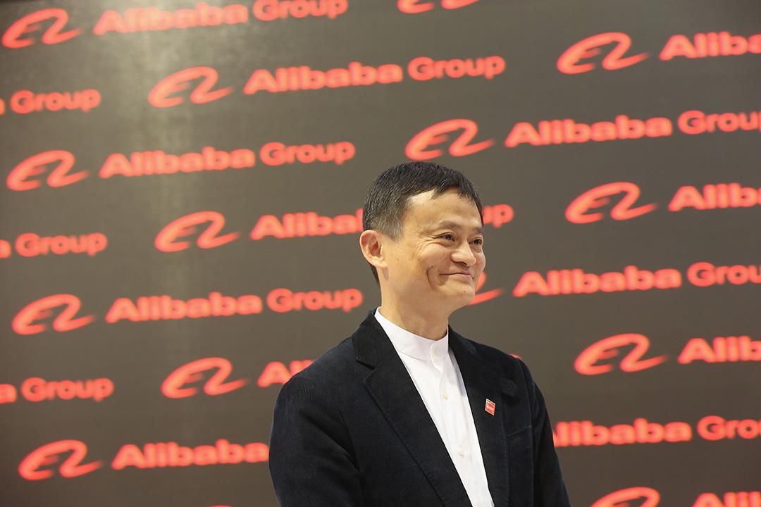 2015年3月16日,德國漢諾威,阿里巴巴集團總裁馬雲參與交易展。攝:Sean Gallup/GETTY