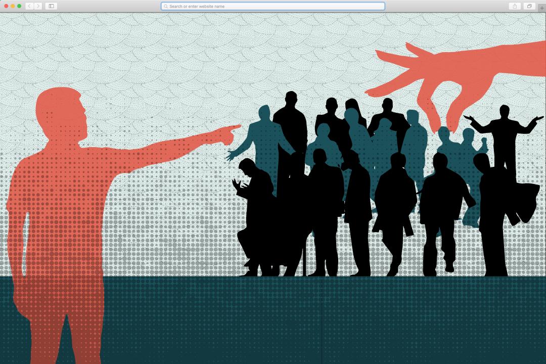 港台藝人被封口、被舉報。圖:端傳媒設計部