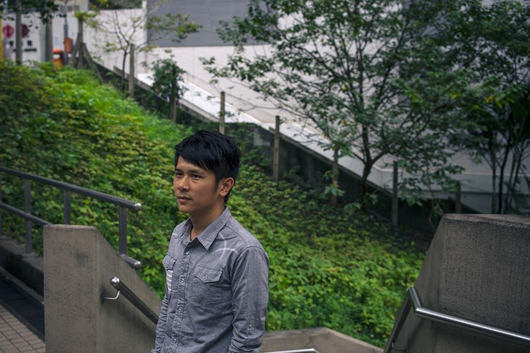長春社助理公共事務經理吳希文。攝 : 葉家豪/端傳媒