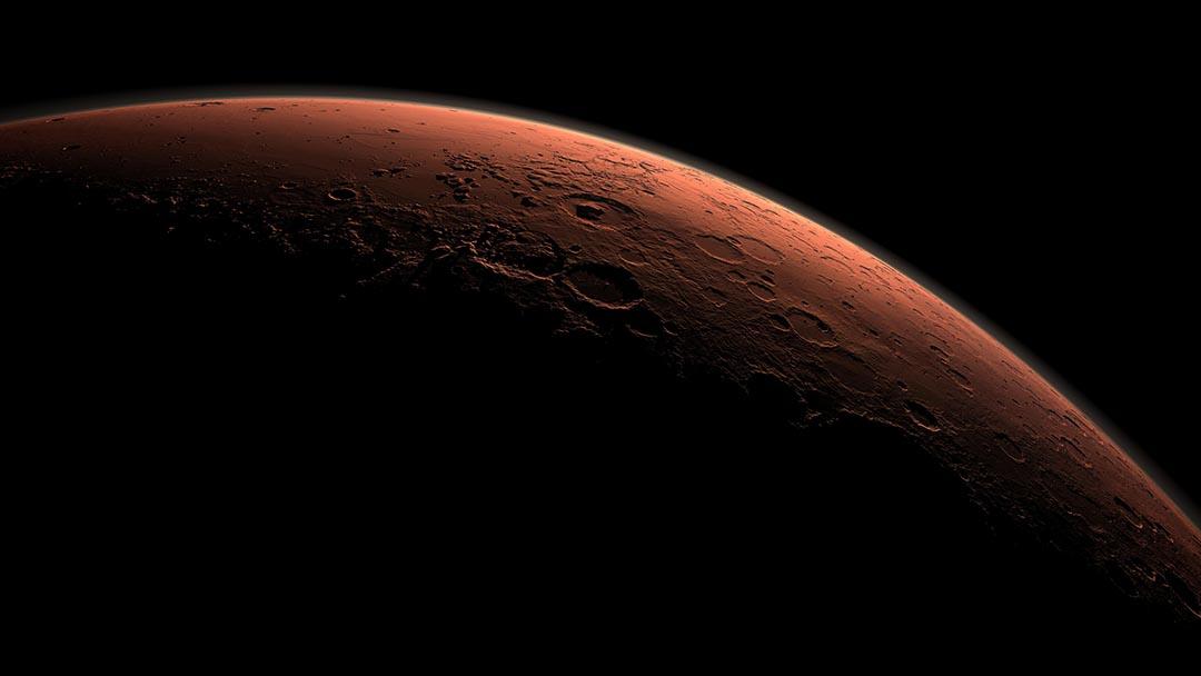 NASA(美國太空總署)9月28日宣布,火星上可能存在液態水。攝 : NASA/Handout via REUTERS