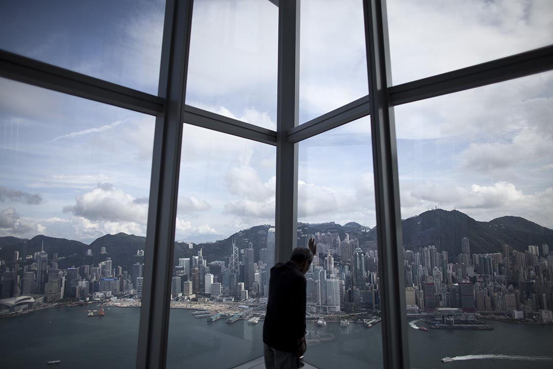 香港大學最新民調結果顯示,港人對香港、中國的前途及一國兩制的信心指數大幅下跌。攝 : 林亦非/端傳媒