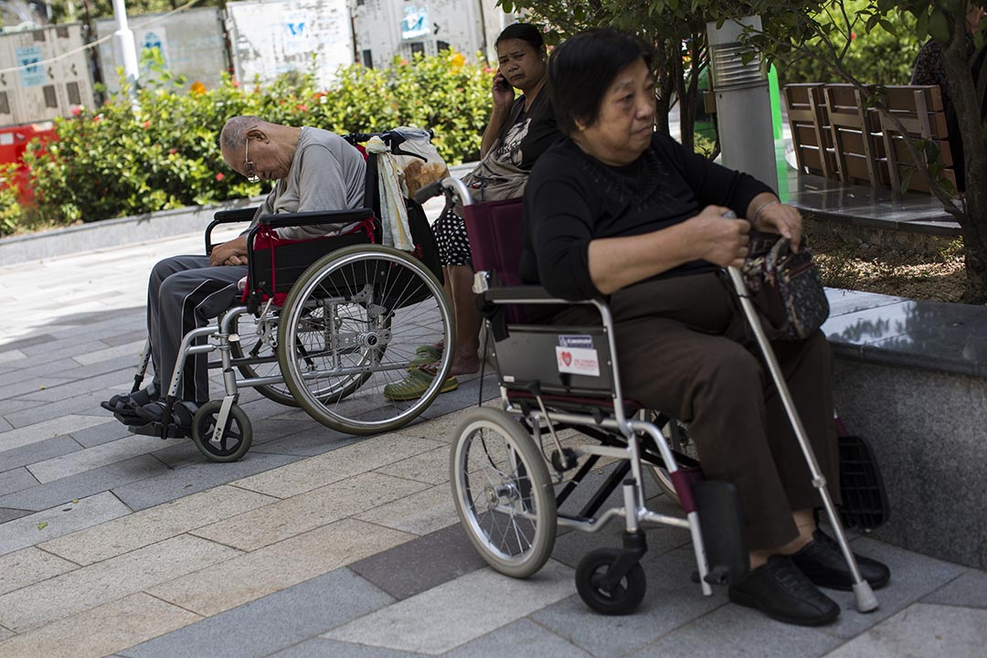 關焯照:要解決人口老化問題,政府必須分清楚「鎮痛」和「治本」的兩種方法。攝:羅國輝/端傳媒
