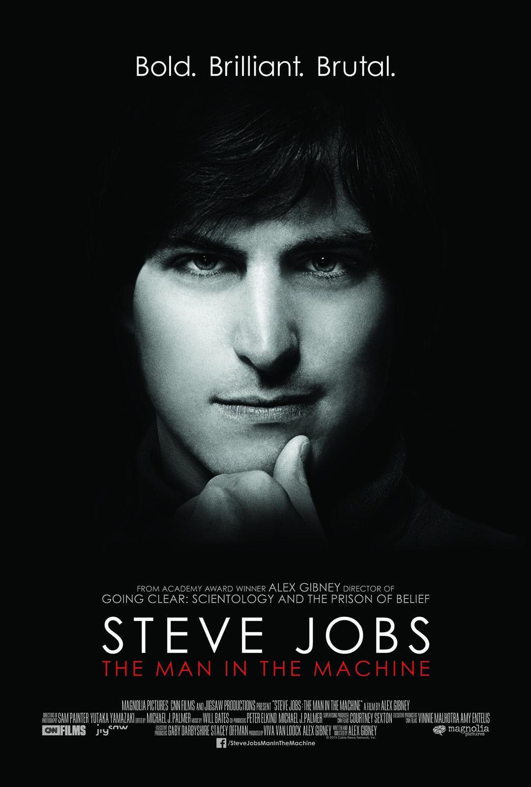 紀錄片《喬布斯:機械人生》(Steve Jobs: The Man in the Machine)海報。