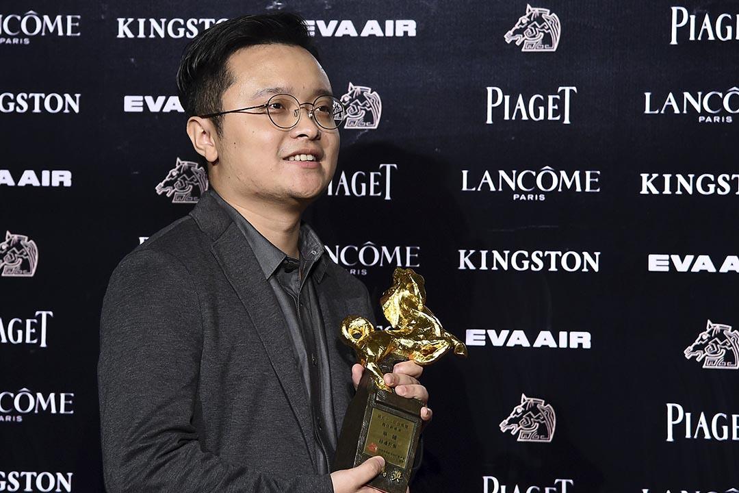 畢贛獲台灣金馬獎最佳新導演。攝:Billy Dai /REUTERS