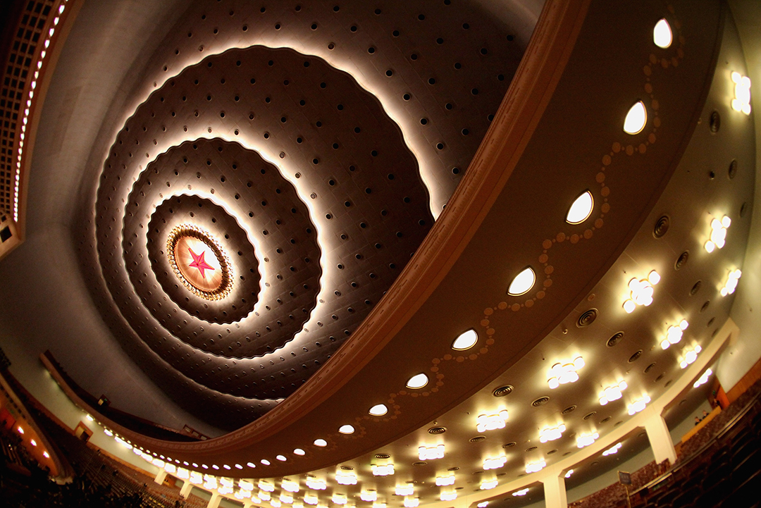 2012年3月3日,北京,人民大會堂。攝:Feng Li/GETTY