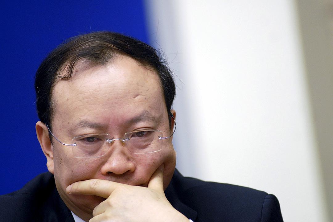 中國國家統計局黨組書記、局長王保安因涉嫌嚴重違紀,目前正接受調查。攝:REUTERS