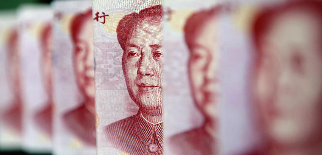 人民幣兌美元匯率連續3日下跌,價位創4年新低,但央行澄清其正逐漸向市場化水平回歸。攝 : Jason Lee / REUTERS