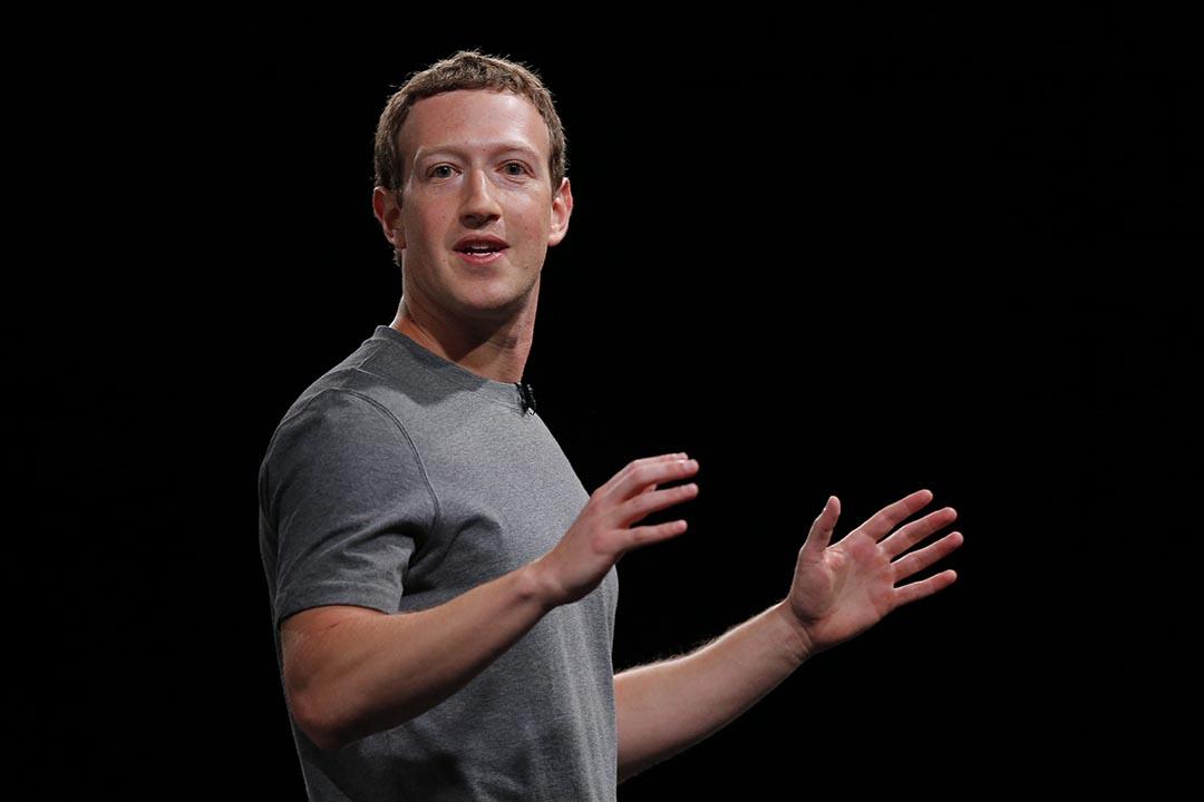 Facebook 創始人、董事長兼 CEO 朱克伯格(Mark Zuckerberg)。攝 : Manu Fernadez/AP