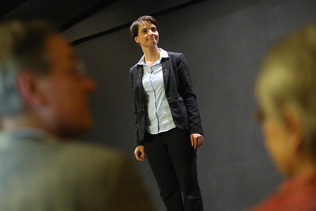 圖為「德國另類選擇黨」(AfD)主席 Frauke Petry。攝 : Sean Gallup/GETTY