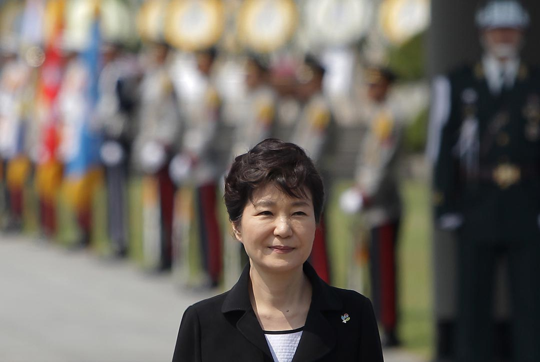 韓國總統樸槿惠。攝 : Chung Sung-Jun/GETTY