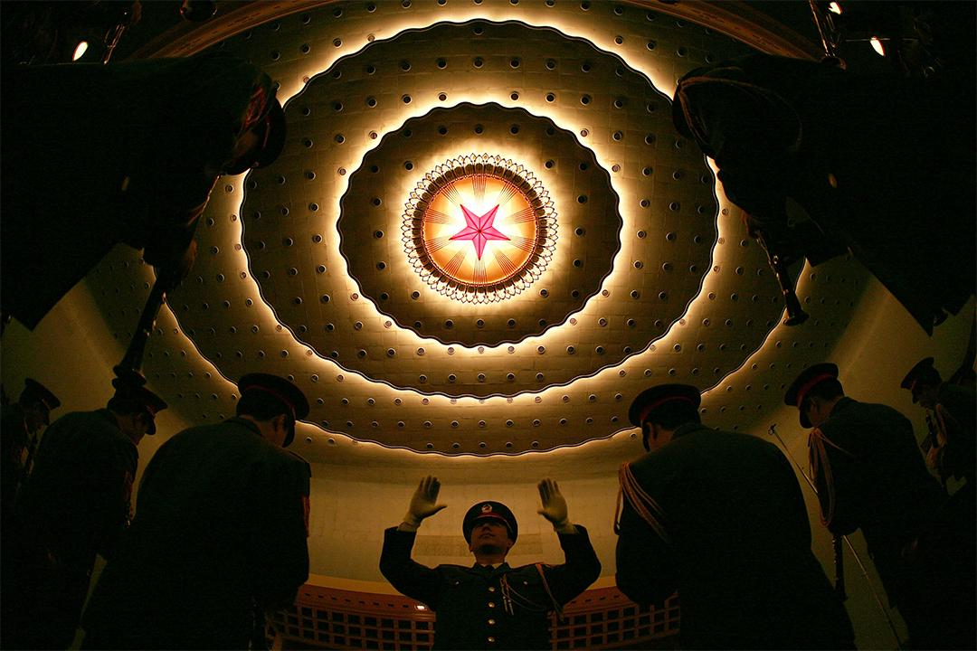 2007年3月16日,北京,人民大會堂。攝:Andrew Wong/GETTY