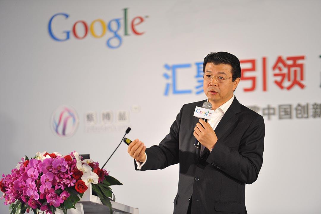 前谷歌全球副总裁、大中华区负责人刘允。摄 : GETTY