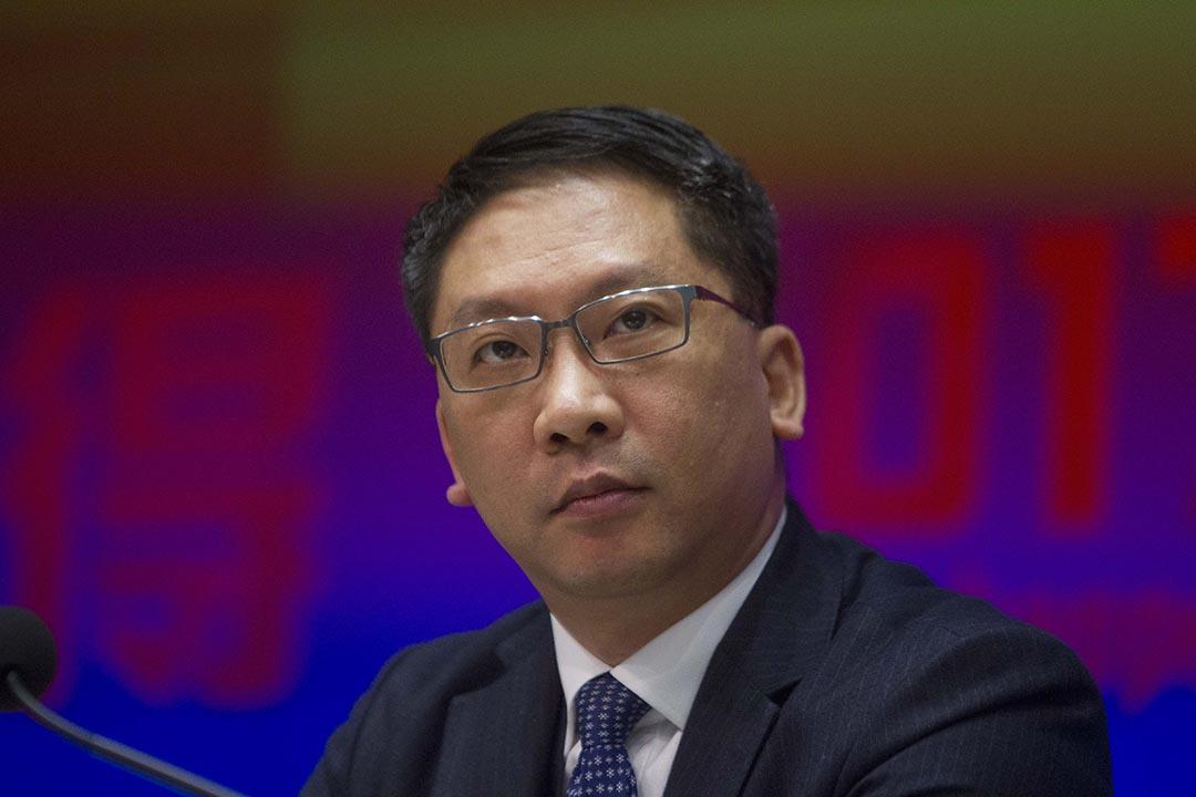 香港律政司司長袁國強指 Uber 可選擇在港合法經營。 攝 : Alan Siu/EyePress