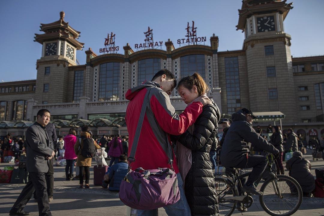 中國國務院於12月12日正式公布了《居住證暫行條例》,並將於2016年1月1日起實施。攝:Kevin Frayer/Getty