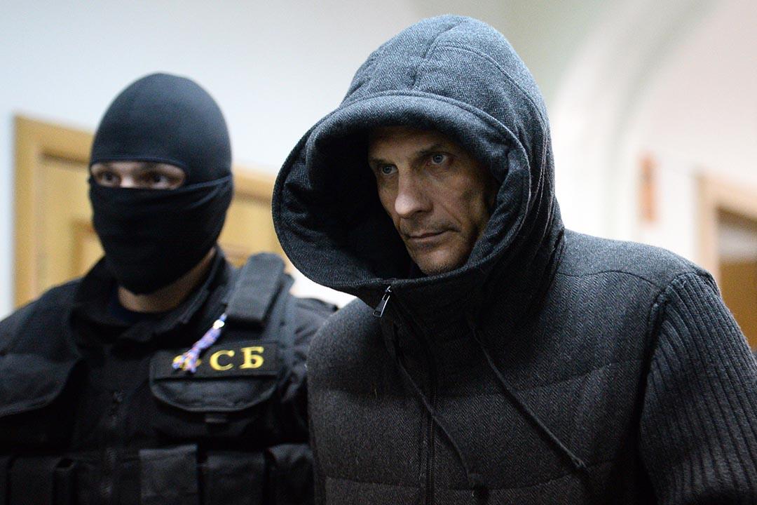 薩哈林州前州長亞歷山大·霍羅沙文。攝 : Dmitry Serebryakov/AFP