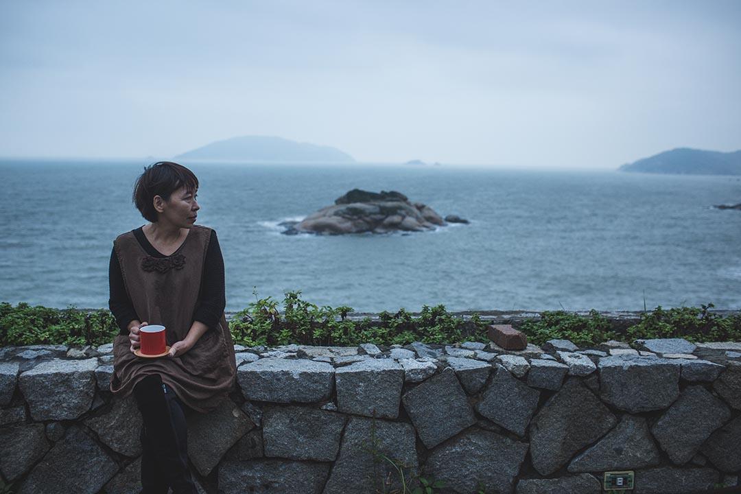 愛情海民宿老闆娘蔣雲鳳。攝:王嘉豪/端傳媒