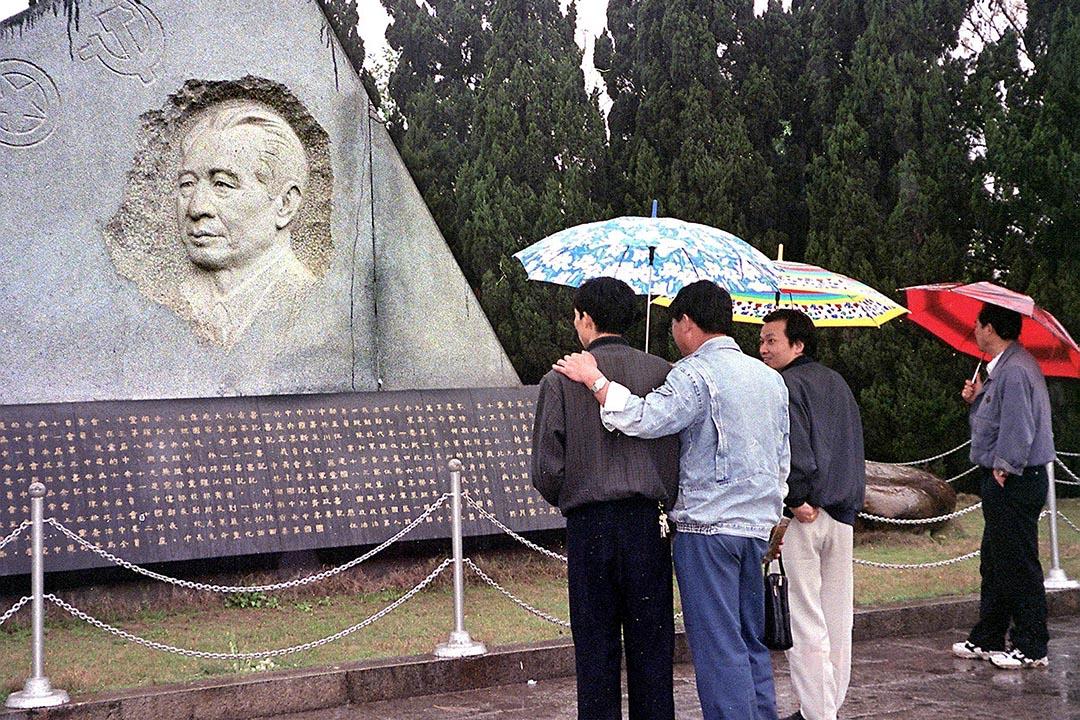 2015年11月20日是已故前中共總書記胡耀邦誕辰一百週年紀念日,圖為江西共青城胡耀邦陵園。攝 : AFP